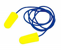 P48005 Ear Yellow tapón con cordon 2 unidades