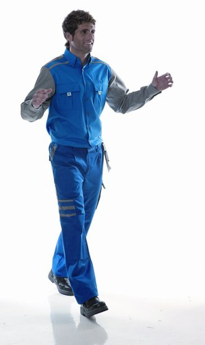 REF: P1148451 Pantalon tergal Monza 1148 azul