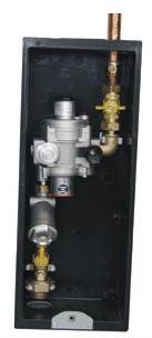 GCS50 Armario regulacion 50 m3/h negro.