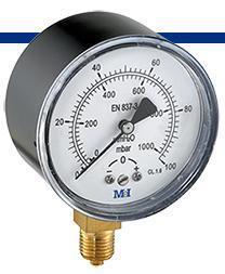 GM1600 Manometro 0-160 grs 1/4. diametro 63 mm